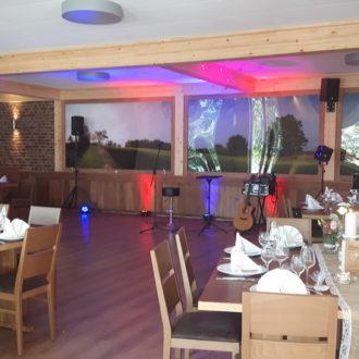 Hochzeitssaal für italienische Hochzeit